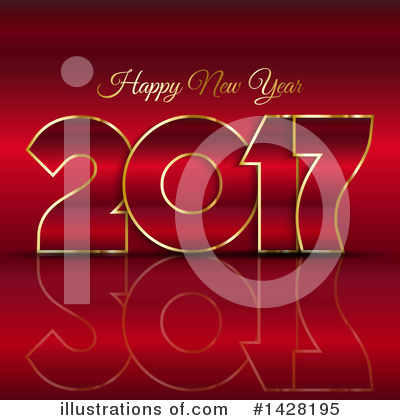 Royalty-Free (RF) New Year Clipart Illustration by KJ Pargeter - Stock Sample #1428195