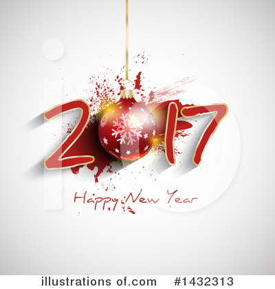 Royalty-Free (RF) New Year Clipart Illustration by KJ Pargeter - Stock Sample #1432313