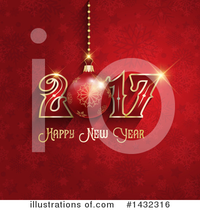 Royalty-Free (RF) New Year Clipart Illustration by KJ Pargeter - Stock Sample #1432316