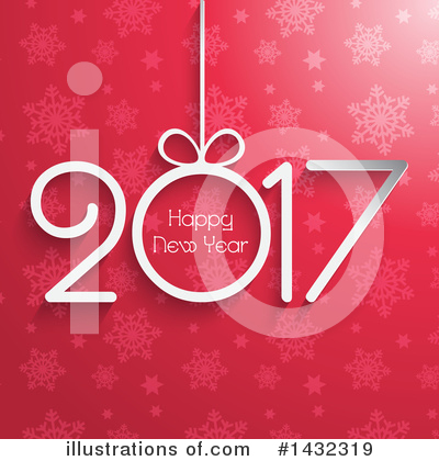 Royalty-Free (RF) New Year Clipart Illustration by KJ Pargeter - Stock Sample #1432319
