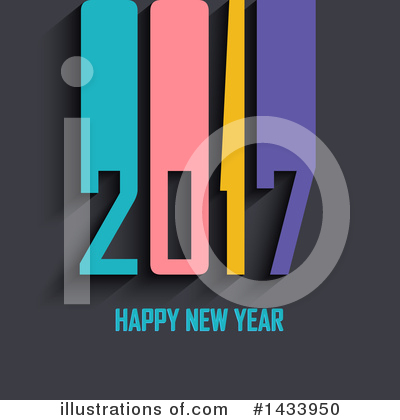 New Year Clipart #1433950 by KJ Pargeter