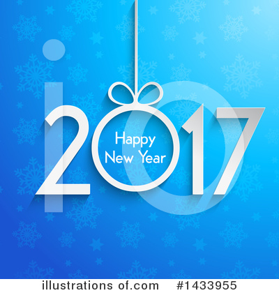 Royalty-Free (RF) New Year Clipart Illustration by KJ Pargeter - Stock Sample #1433955