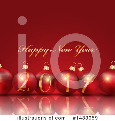 Royalty-Free (RF) New Year Clipart Illustration by KJ Pargeter - Stock Sample #1433959