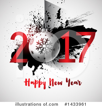 Royalty-Free (RF) New Year Clipart Illustration by KJ Pargeter - Stock Sample #1433961