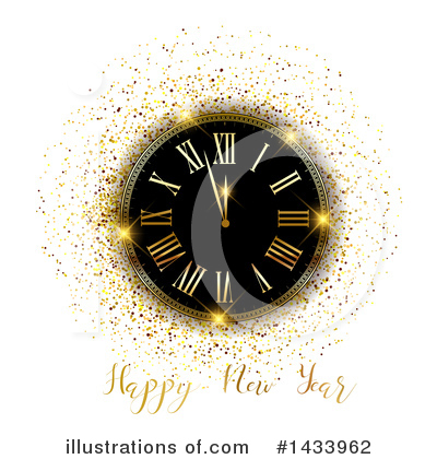 Clock Clipart #1433962 by KJ Pargeter