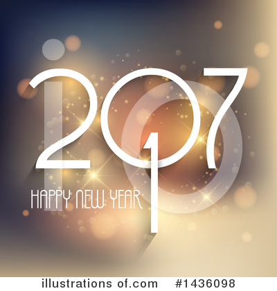 Royalty-Free (RF) New Year Clipart Illustration by KJ Pargeter - Stock Sample #1436098