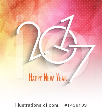 Royalty-Free (RF) New Year Clipart Illustration by KJ Pargeter - Stock Sample #1436103