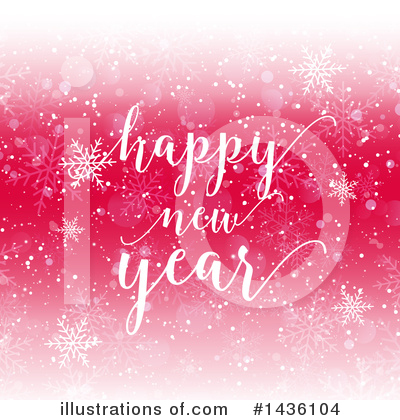 New Year Clipart #1436104 by KJ Pargeter