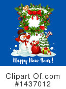 New Year Clipart #1437012 by Vector Tradition SM