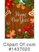 New Year Clipart #1437020 by Vector Tradition SM