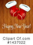New Year Clipart #1437022 by Vector Tradition SM