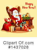 New Year Clipart #1437028 by Vector Tradition SM