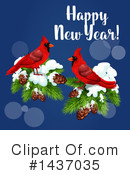 New Year Clipart #1437035 by Vector Tradition SM