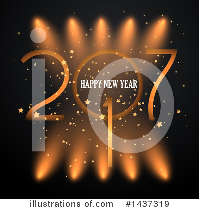 Royalty-Free (RF) New Year Clipart Illustration by KJ Pargeter - Stock Sample #1437319