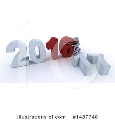 Royalty-Free (RF) New Year Clipart Illustration by KJ Pargeter - Stock Sample #1437748