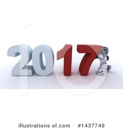 Royalty-Free (RF) New Year Clipart Illustration by KJ Pargeter - Stock Sample #1437749