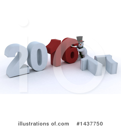 Royalty-Free (RF) New Year Clipart Illustration by KJ Pargeter - Stock Sample #1437750