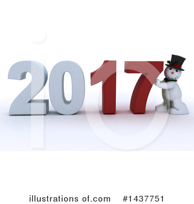 Royalty-Free (RF) New Year Clipart Illustration by KJ Pargeter - Stock Sample #1437751
