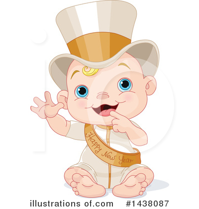 New Year Baby Clipart #1438087 by Pushkin
