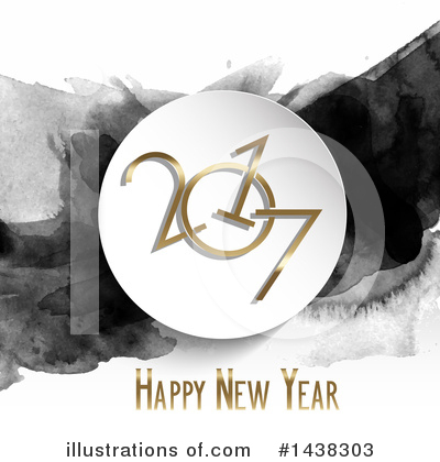 Royalty-Free (RF) New Year Clipart Illustration by KJ Pargeter - Stock Sample #1438303