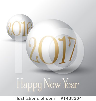 Royalty-Free (RF) New Year Clipart Illustration by KJ Pargeter - Stock Sample #1438304