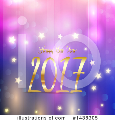 Royalty-Free (RF) New Year Clipart Illustration by KJ Pargeter - Stock Sample #1438305