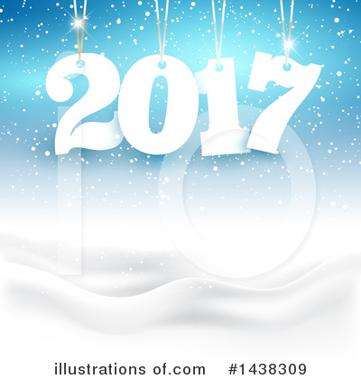Royalty-Free (RF) New Year Clipart Illustration by KJ Pargeter - Stock Sample #1438309