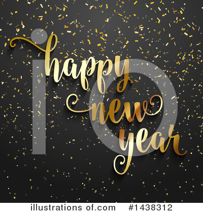 New Year Clipart #1438312 by KJ Pargeter