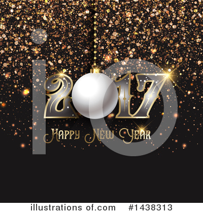 Royalty-Free (RF) New Year Clipart Illustration by KJ Pargeter - Stock Sample #1438313