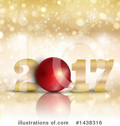 Royalty-Free (RF) New Year Clipart Illustration by KJ Pargeter - Stock Sample #1438316