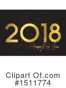 New Year Clipart #1511774 by KJ Pargeter