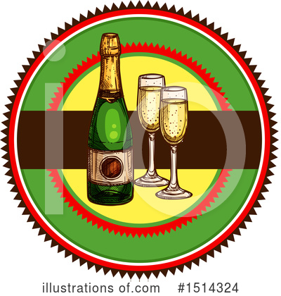 New Year Clipart #1514324 by Vector Tradition SM