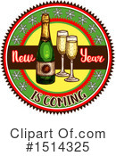 Royalty-Free (RF) New Year Clipart Illustration #1514325