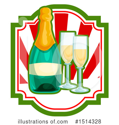 New Year Clipart #1514328 by Vector Tradition SM
