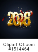 New Year Clipart #1514464 by beboy
