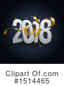 New Year Clipart #1514465 by beboy