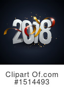 New Year Clipart #1514493 by beboy