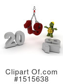 New Year Clipart #1515638 by KJ Pargeter