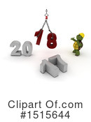 New Year Clipart #1515644 by KJ Pargeter