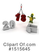 New Year Clipart #1515645 by KJ Pargeter