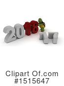 New Year Clipart #1515647 by KJ Pargeter