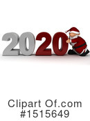 New Year Clipart #1515649 by KJ Pargeter