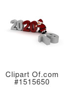 New Year Clipart #1515650 by KJ Pargeter