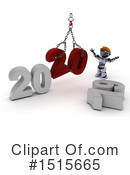 New Year Clipart #1515665 by KJ Pargeter