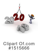 New Year Clipart #1515666 by KJ Pargeter
