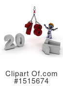 New Year Clipart #1515674 by KJ Pargeter