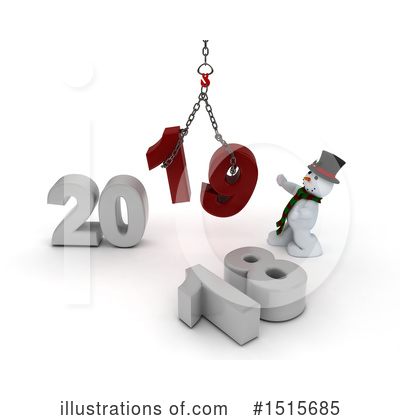 New Year Clipart #1515685 by KJ Pargeter