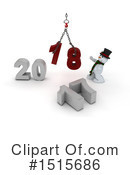 New Year Clipart #1515686 by KJ Pargeter