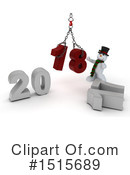 New Year Clipart #1515689 by KJ Pargeter