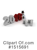 New Year Clipart #1515691 by KJ Pargeter